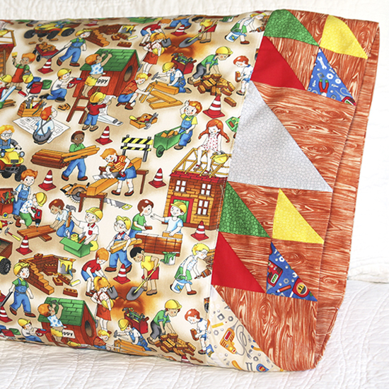 Paintbrush Studio- Pillowcase 66: Doubled-Up Triangle Square