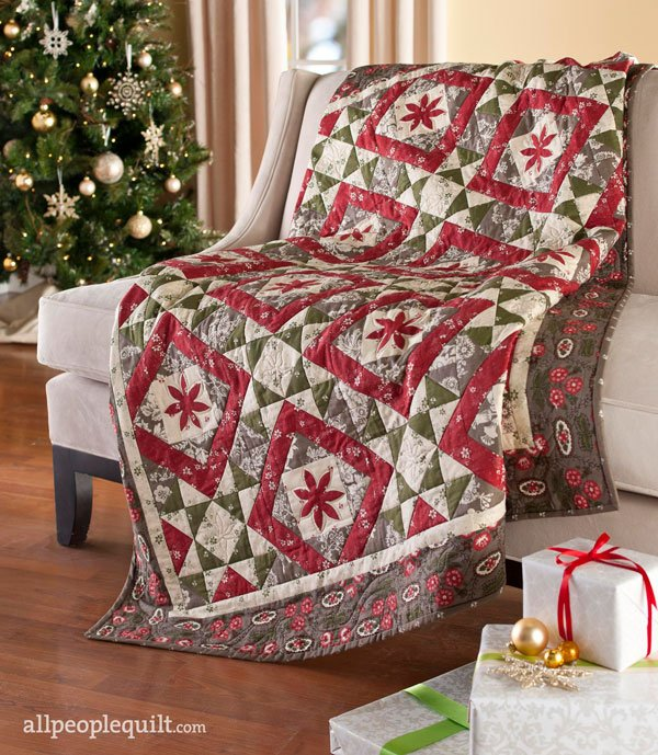 Holiday Quilt Projects Allpeoplequilt Com