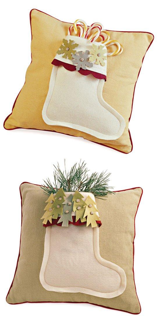 Comfort and Joy Stocking Pillows