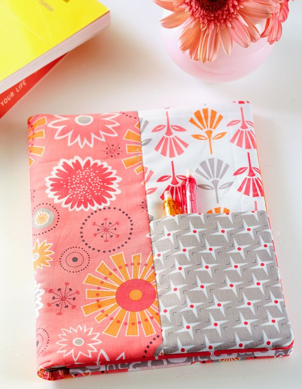 Top Gift Pattern: Notebook Cover