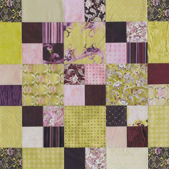 Easy Squares Table Topper