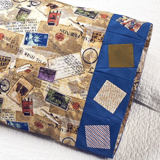 Paintbrush Studio- Pillowcase 71: Wonky Square