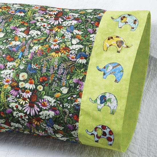 Paintbrush Studio - Pillowcase 75: Elephant Band
