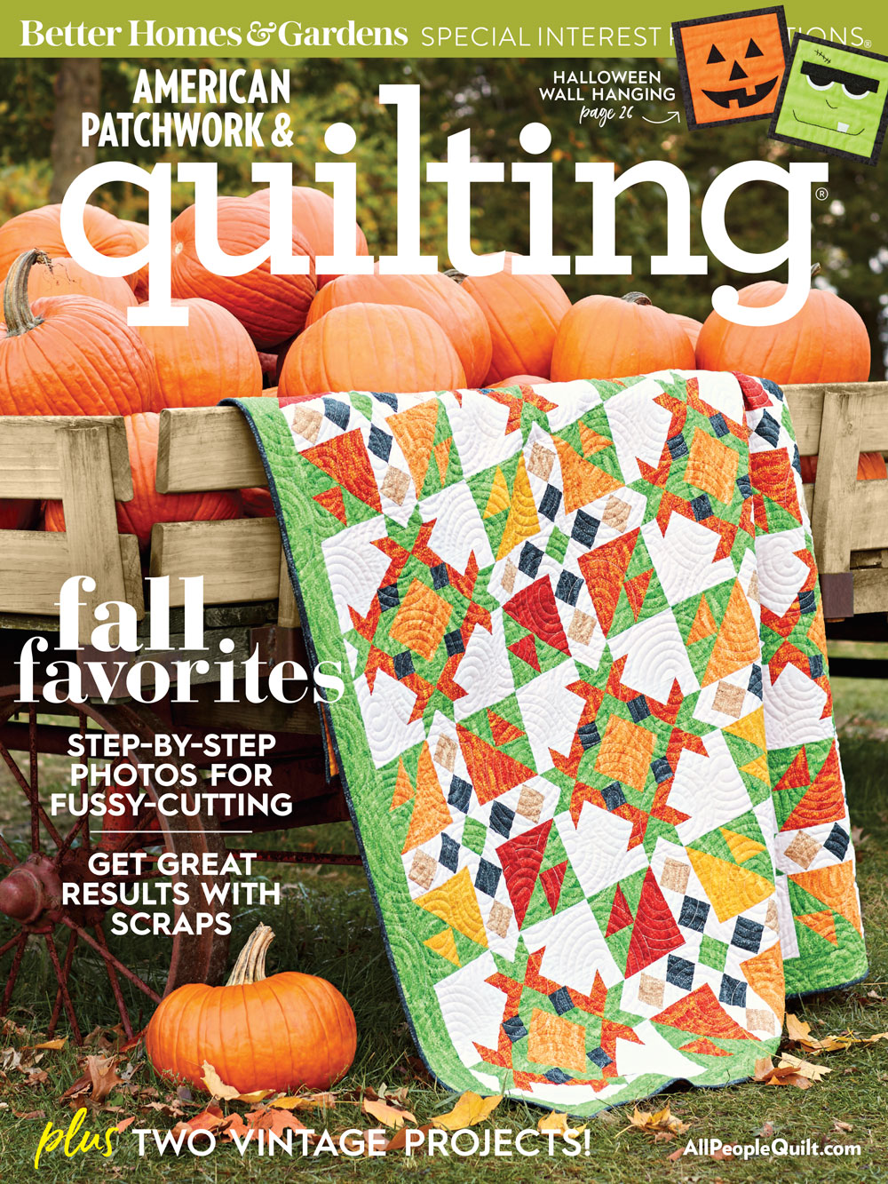 American Patchwork & Quilting October 2018