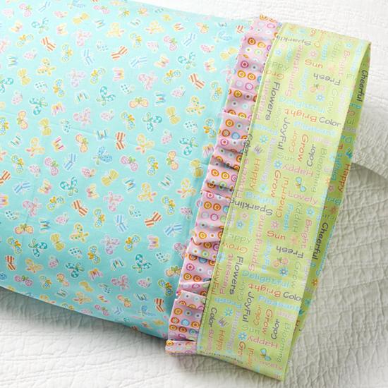 Benartex - Pillowcase 78: Ruffle