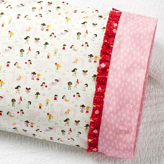 Moda - Pillowcase 78: Ruffle