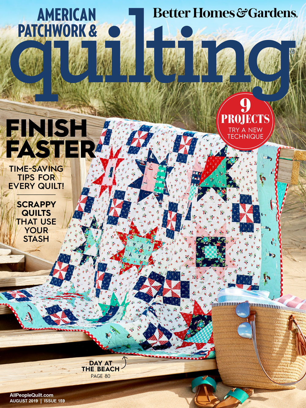 American Patchwork & Quilting August 2019