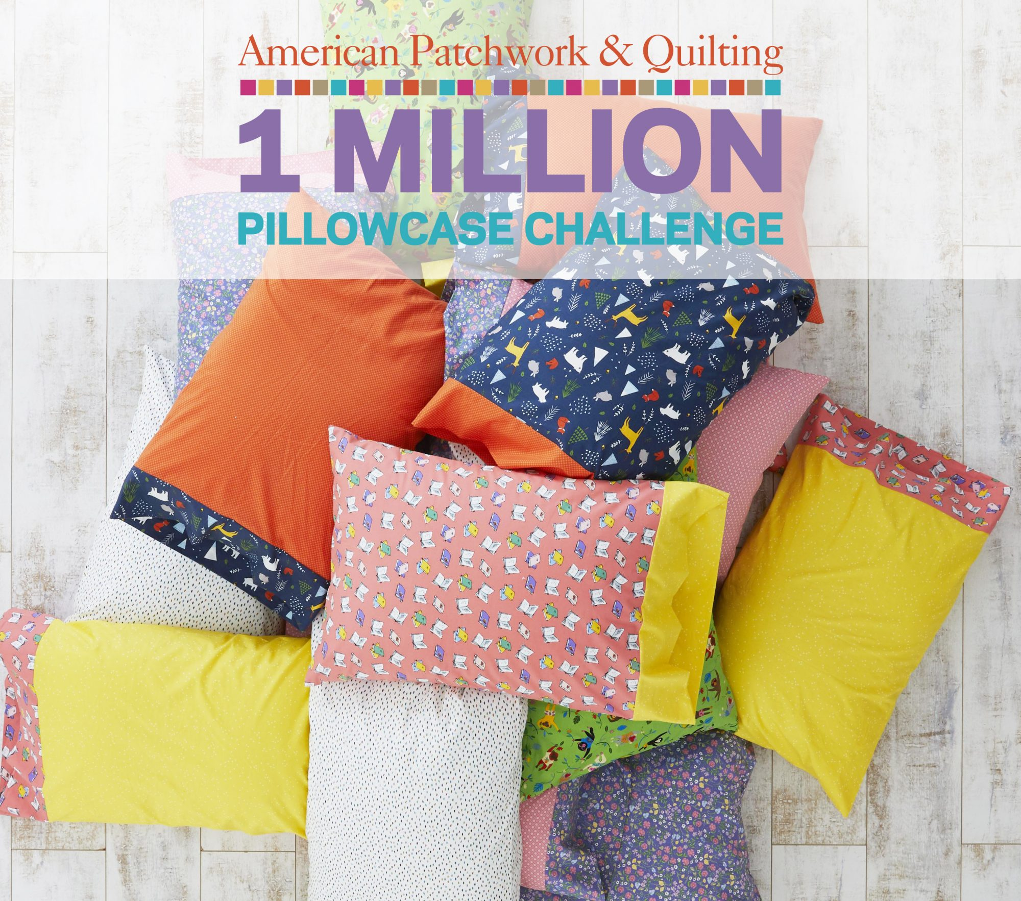 One Million Pillowcase Challenge Donation Page