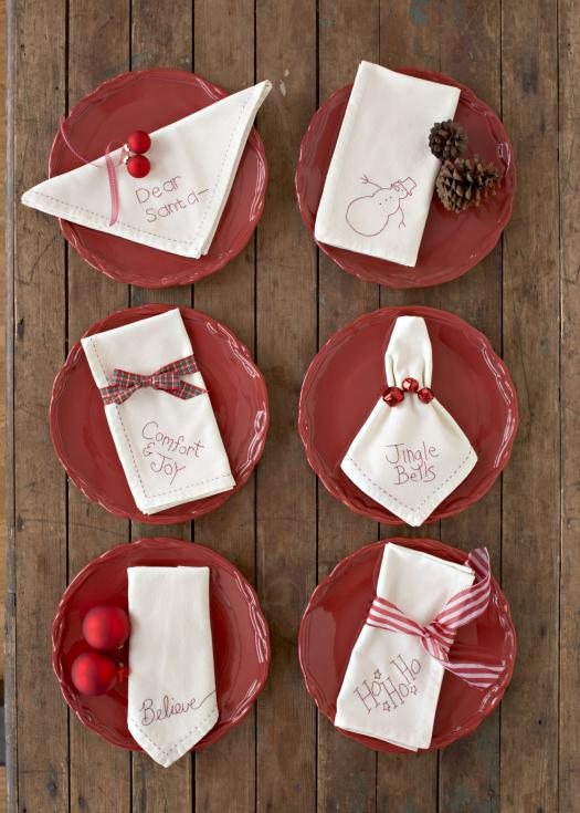 Merry and Bright Napkins