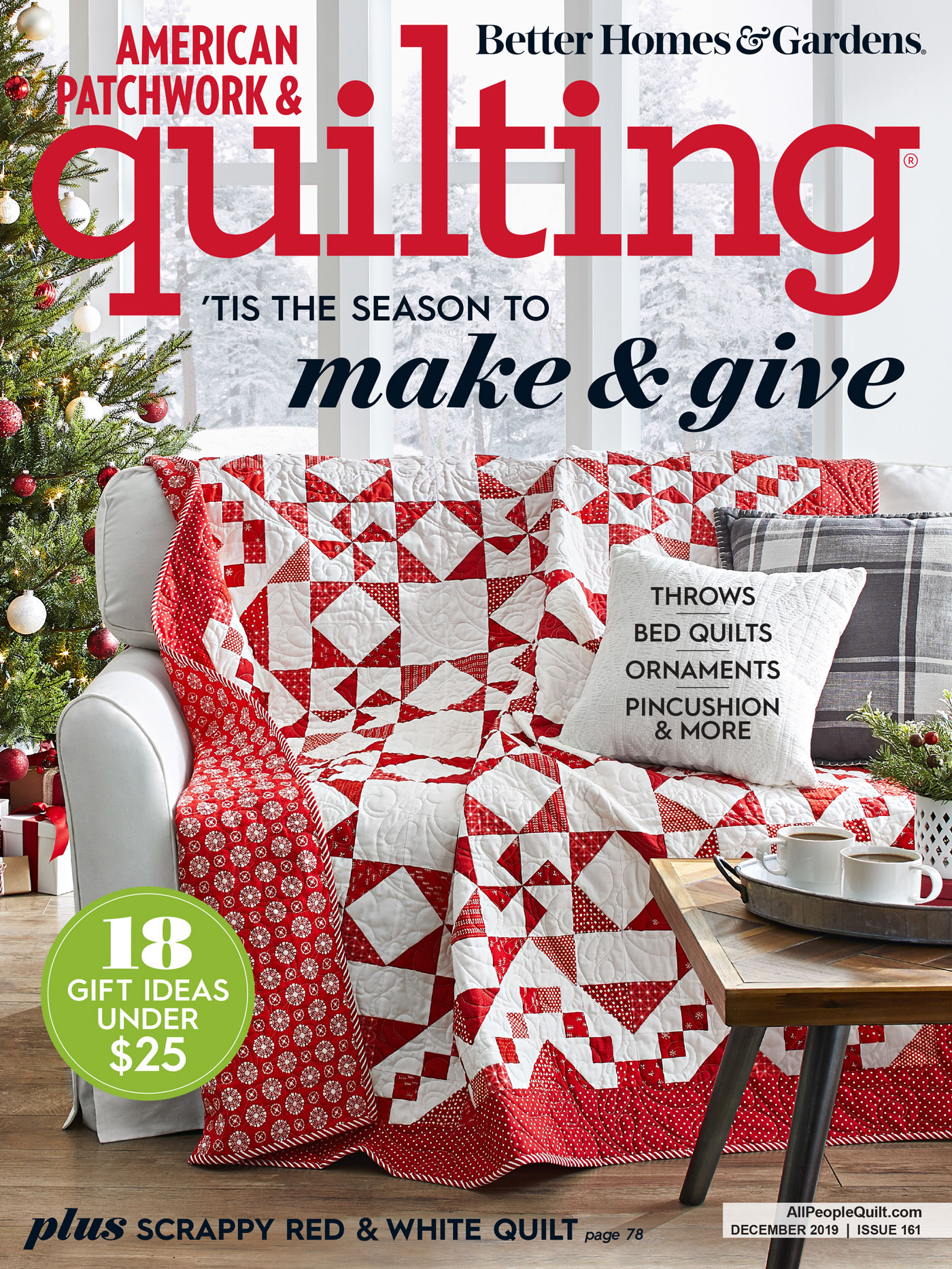 American Patchwork & Quilting December 2019
