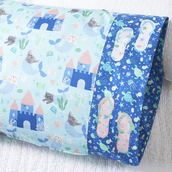 Northcott - Pillowcase 83: Flip Flop Appliqué