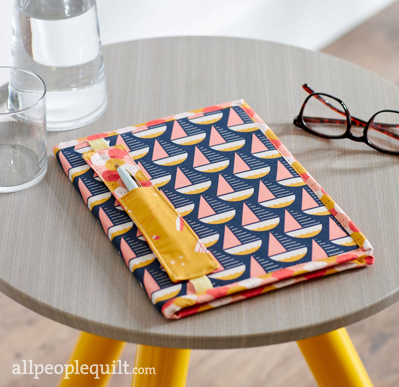 Gift Guide: Notebook Cover with Pen Holder