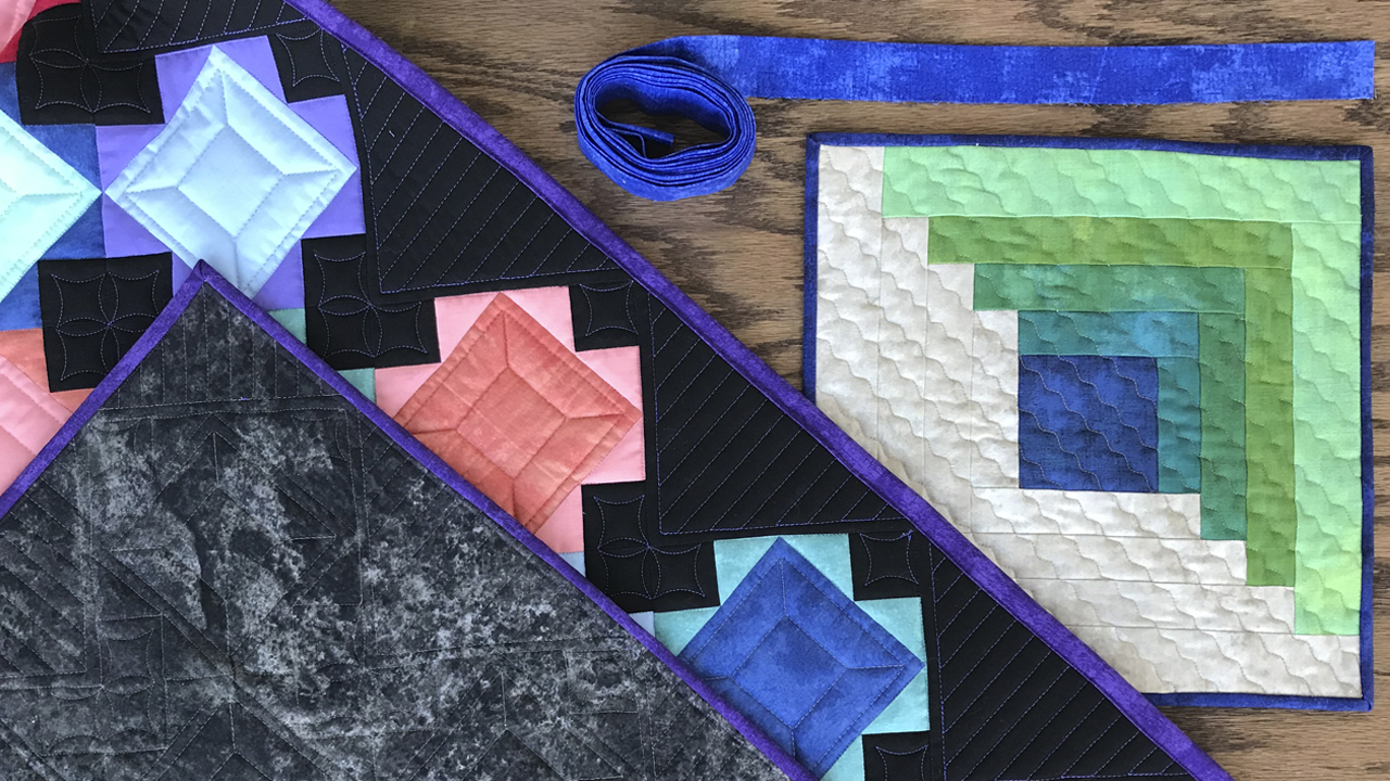2 Ways to Bind a Quilt