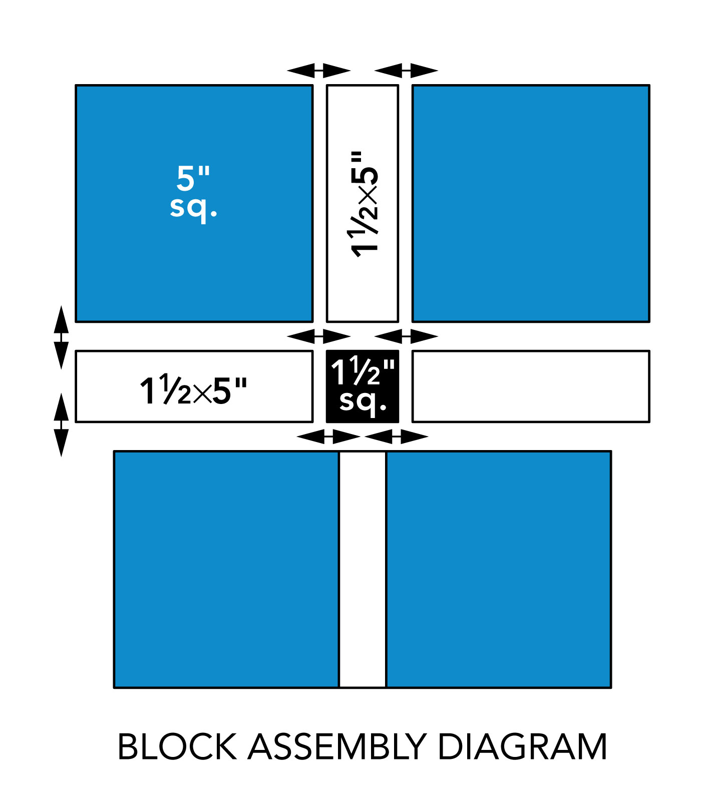 block assembly diagram