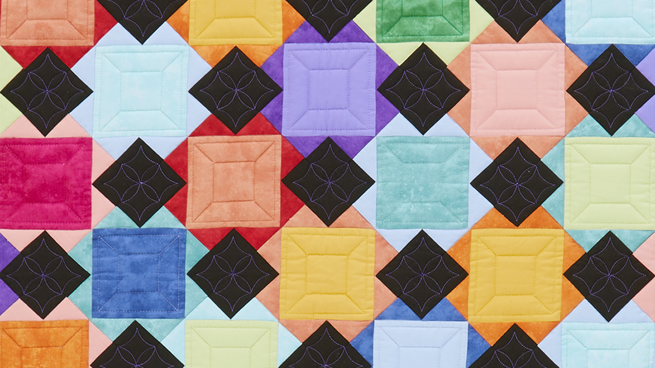 Color Cross Quilt