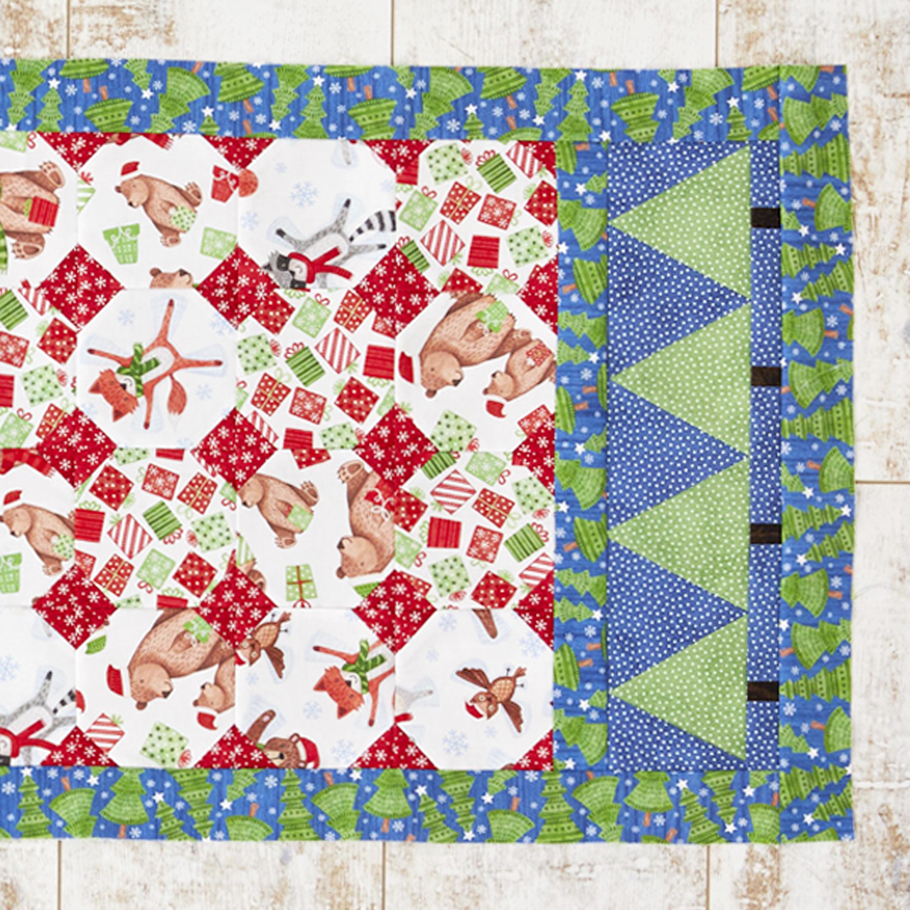 Snowball Table Runner