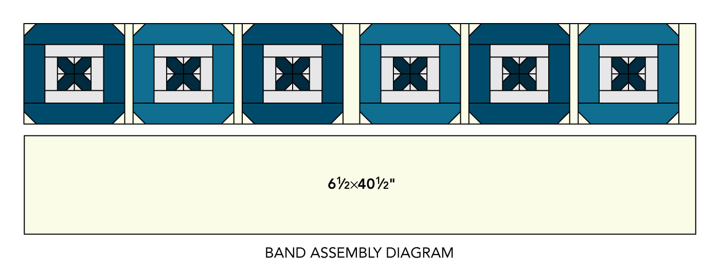 band assembly diagram