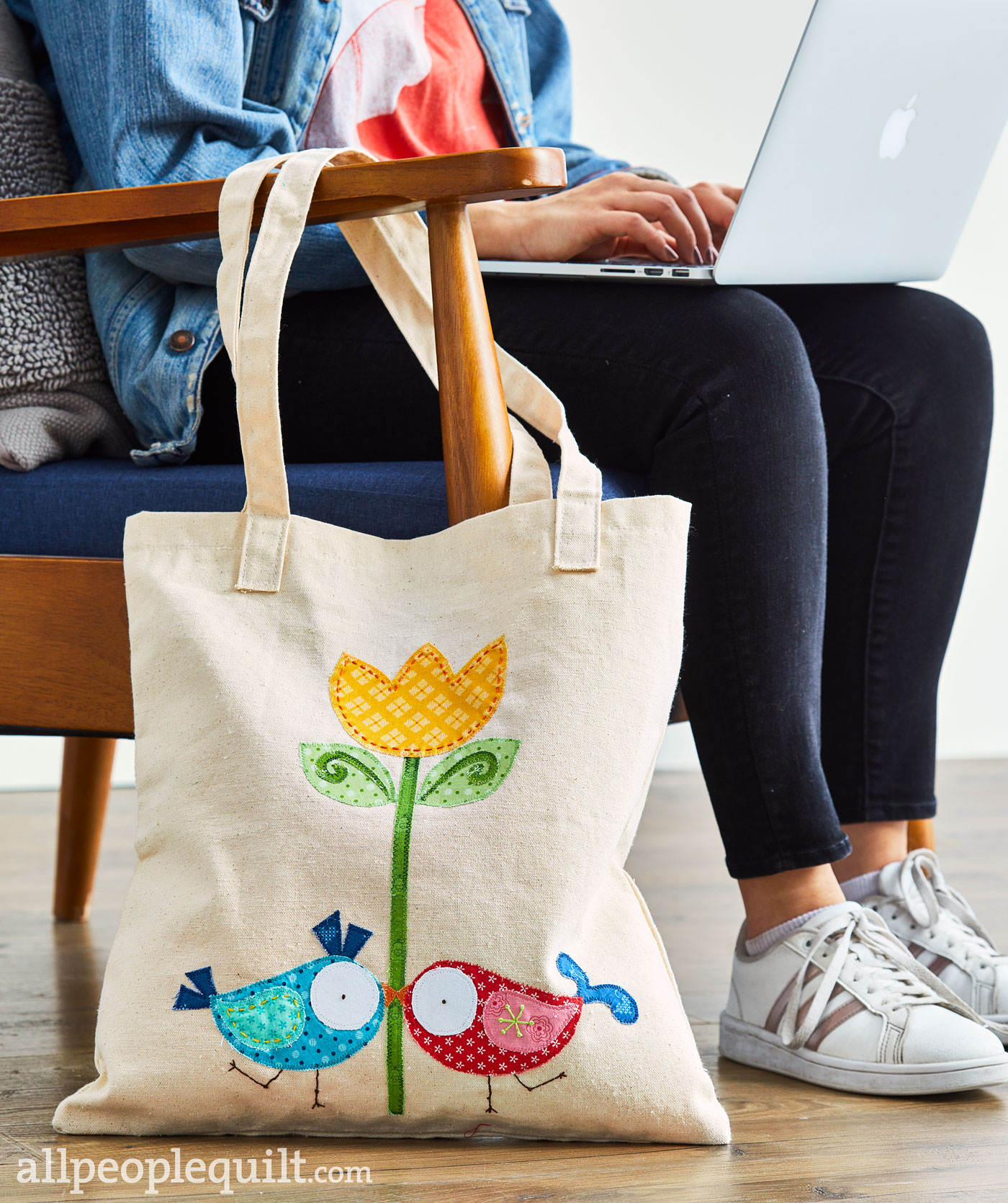 Spring to Life Tote