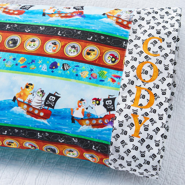 Northcott Personalized Pillowcase