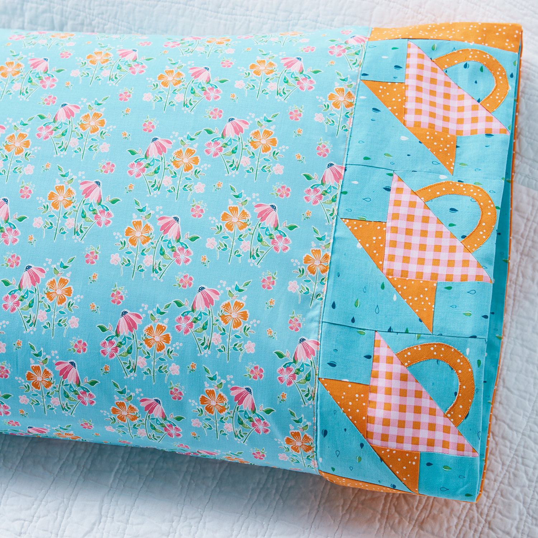 Riley Blake May Basket Pillowcase