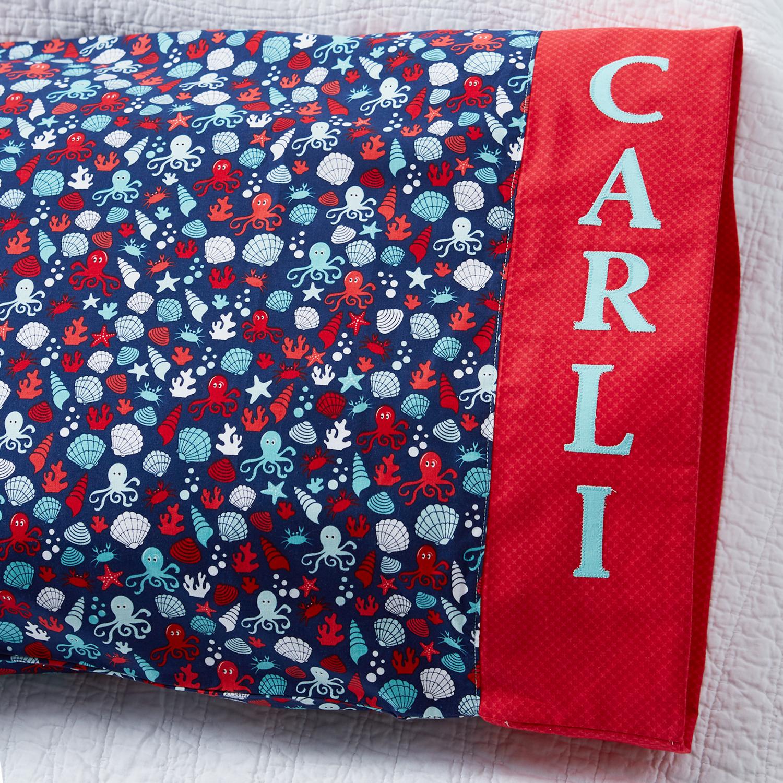 Riley Blake Personalized Pillowcase