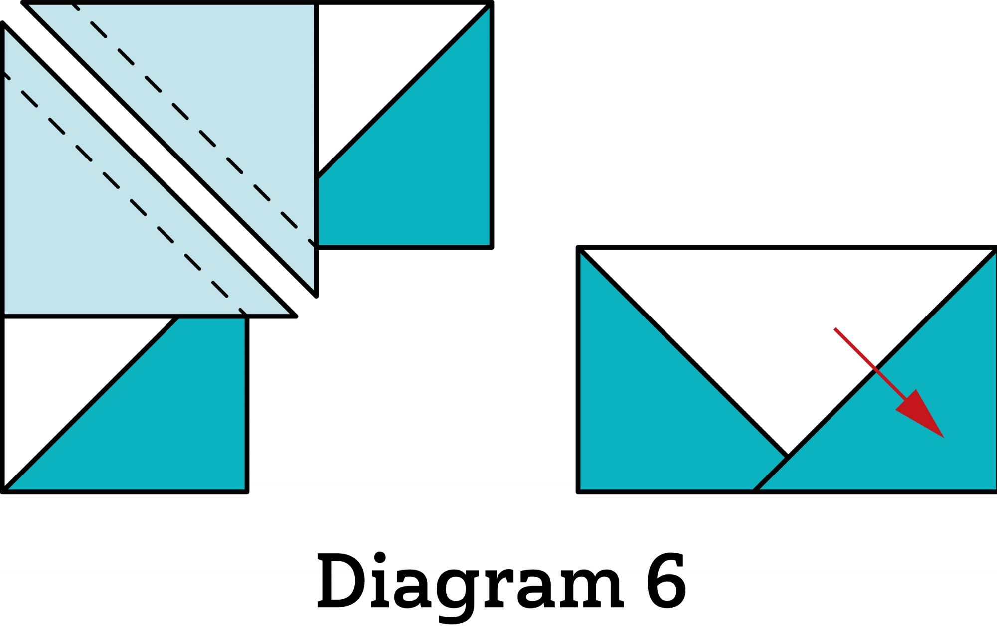 Bright Spark Table Runner diagram 6