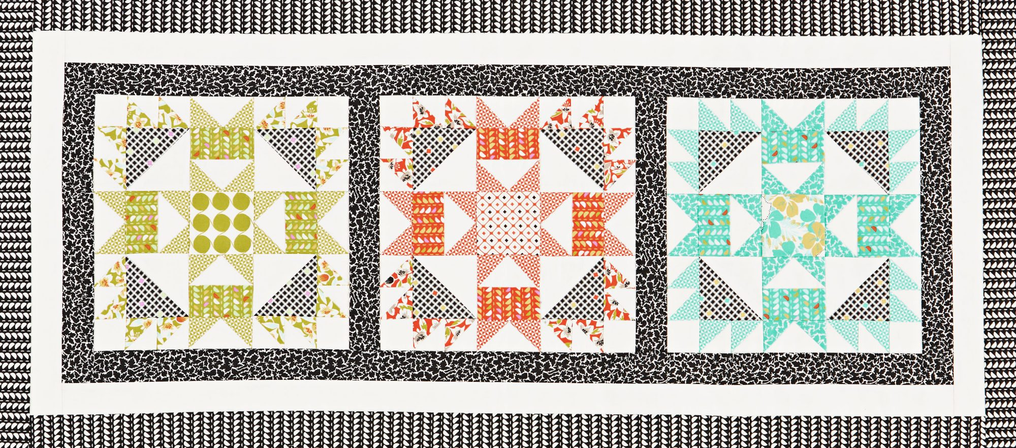 Bright Spark Table Runner