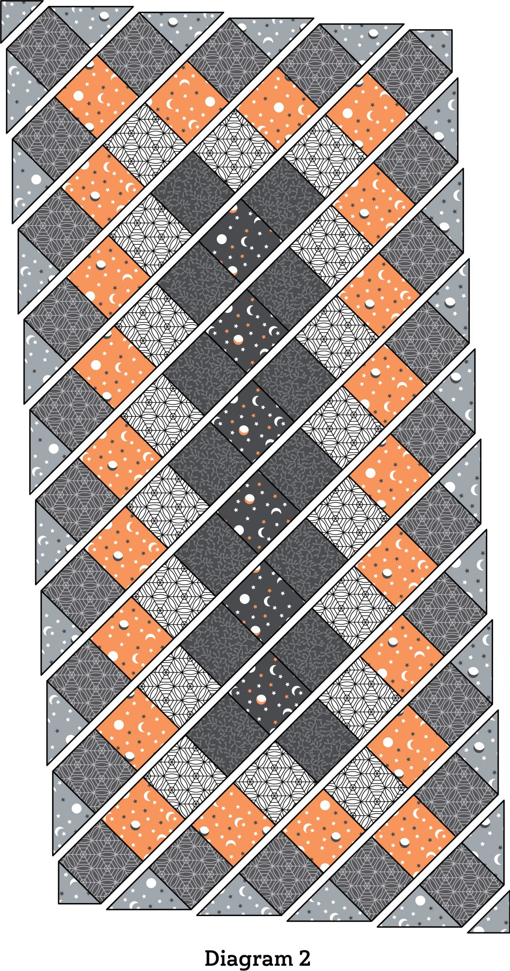 Spellbinding Table Runner diagram 2
