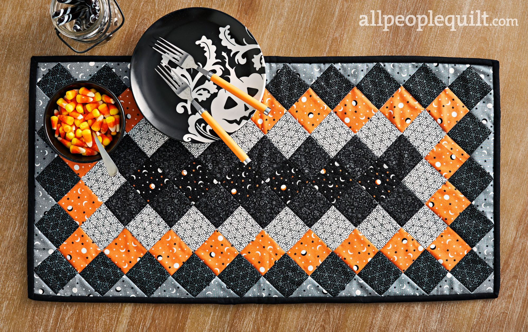Spellbinding Table Runner