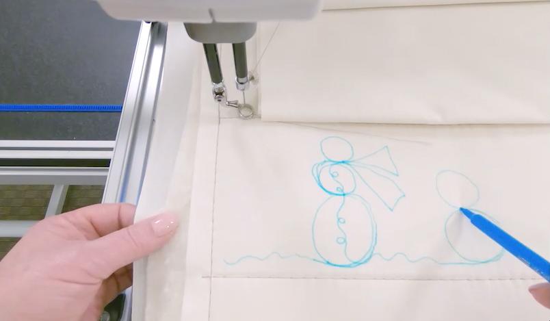 Snowman desgin