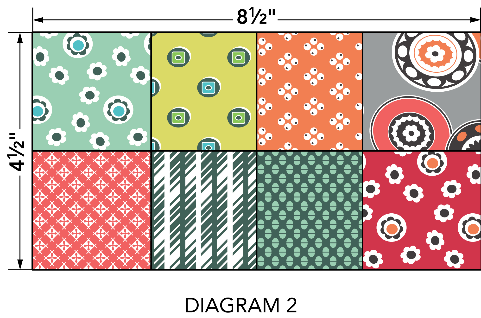 Sew Write pouch diagram 2