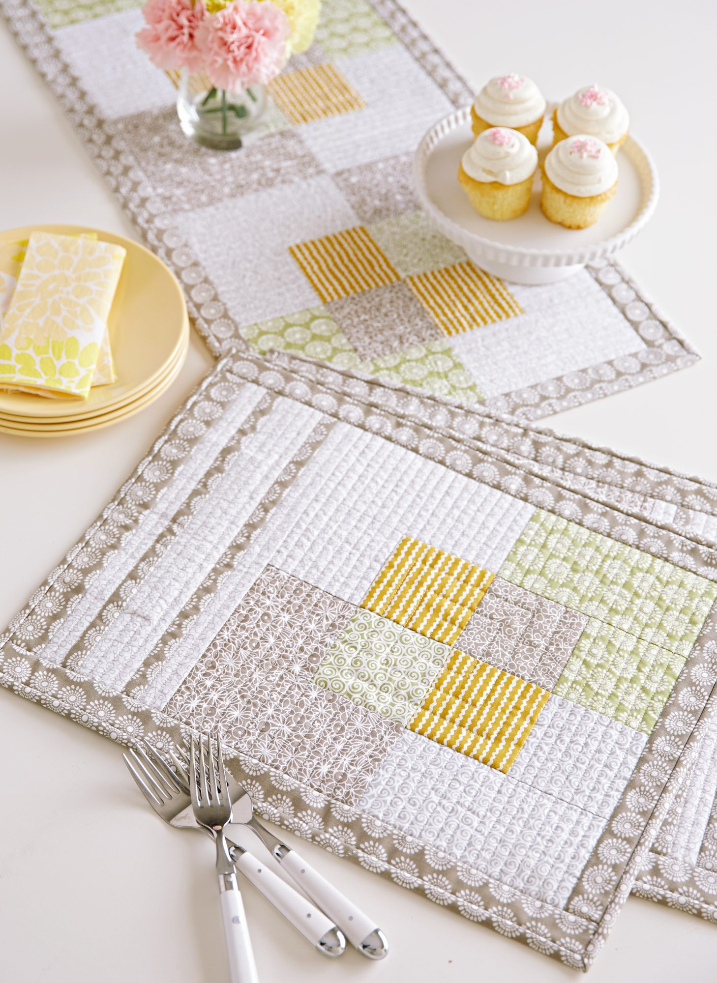 Square Scramble place mats