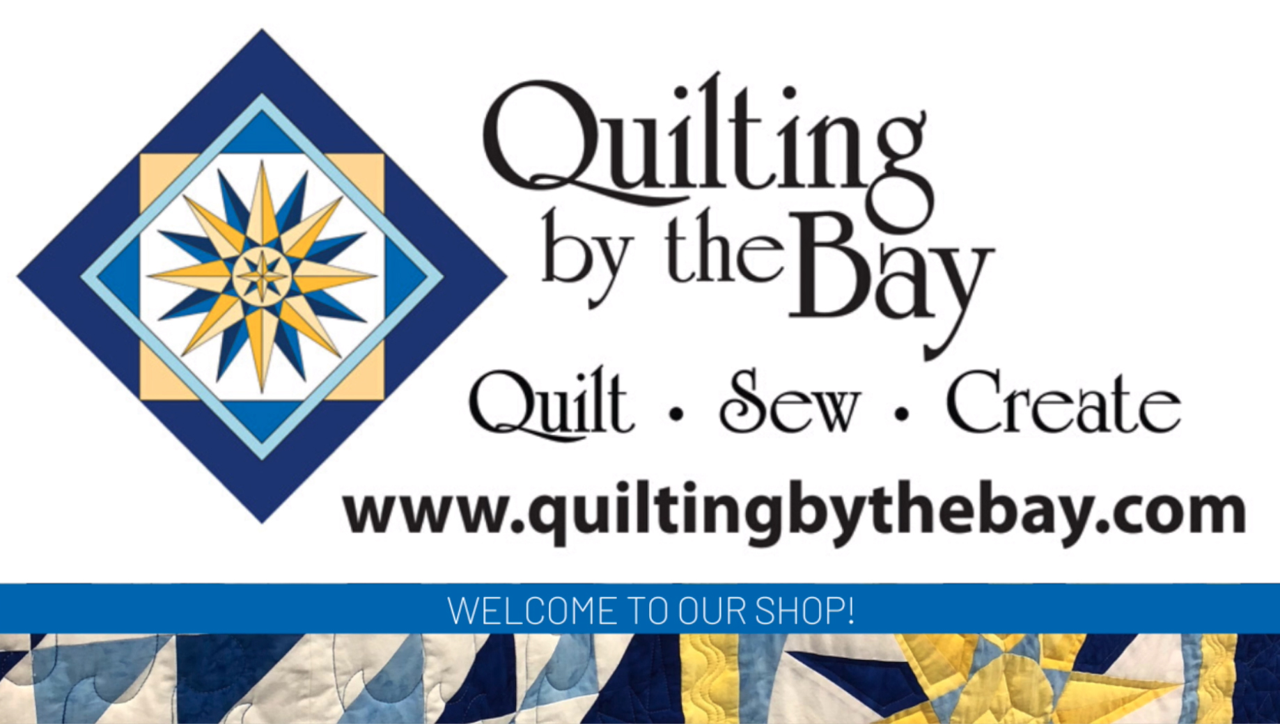 Quilting by the Bay Logo