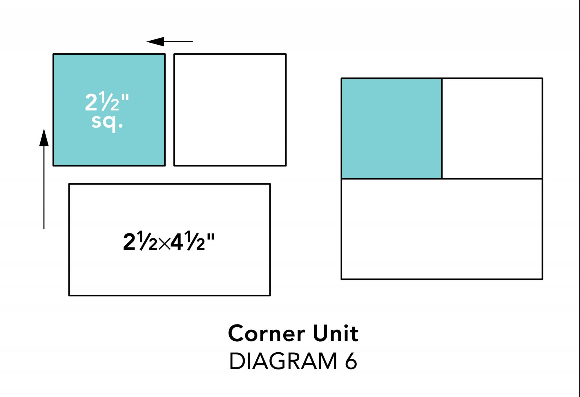 Mix-It-Up Table Runner diagram 6