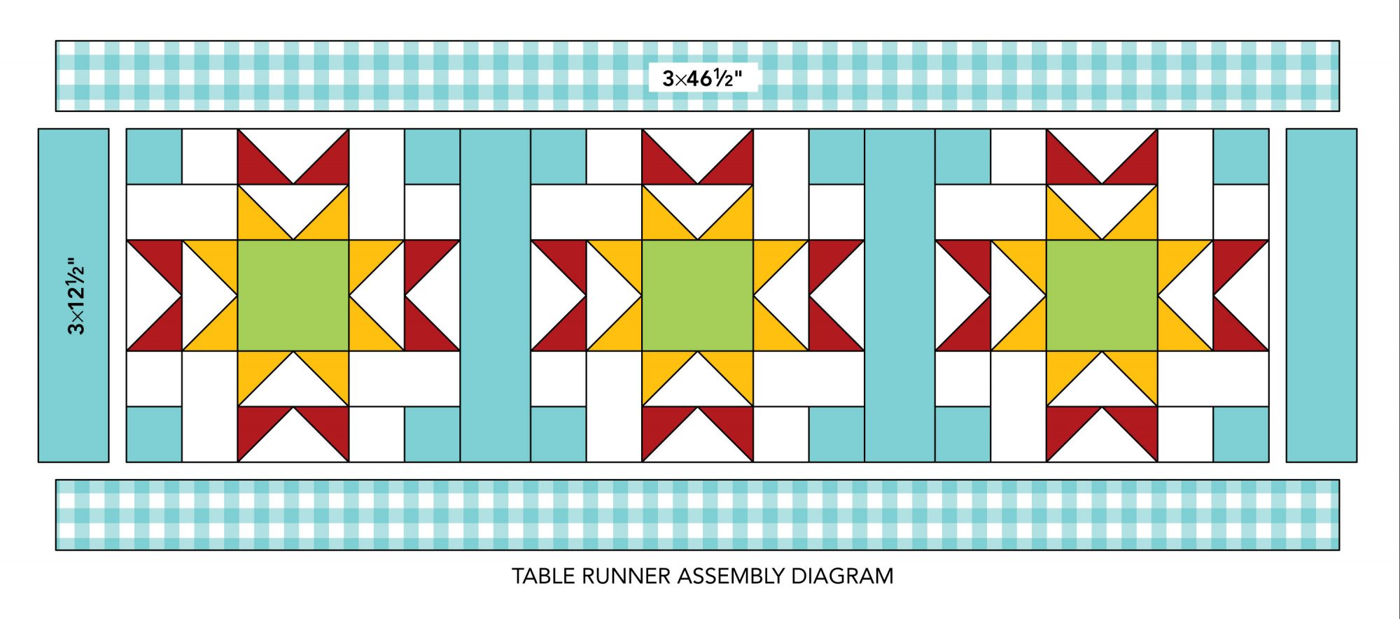 Mix-It-Up Table Runner qad