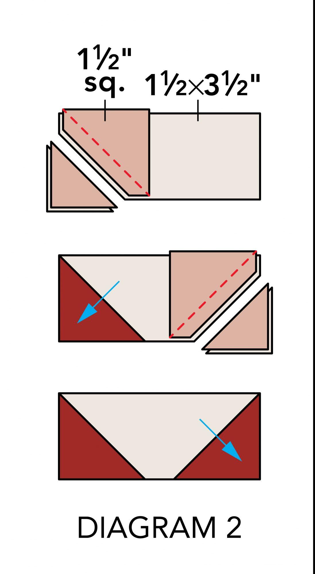 Fall Mug Rugs diagram 2