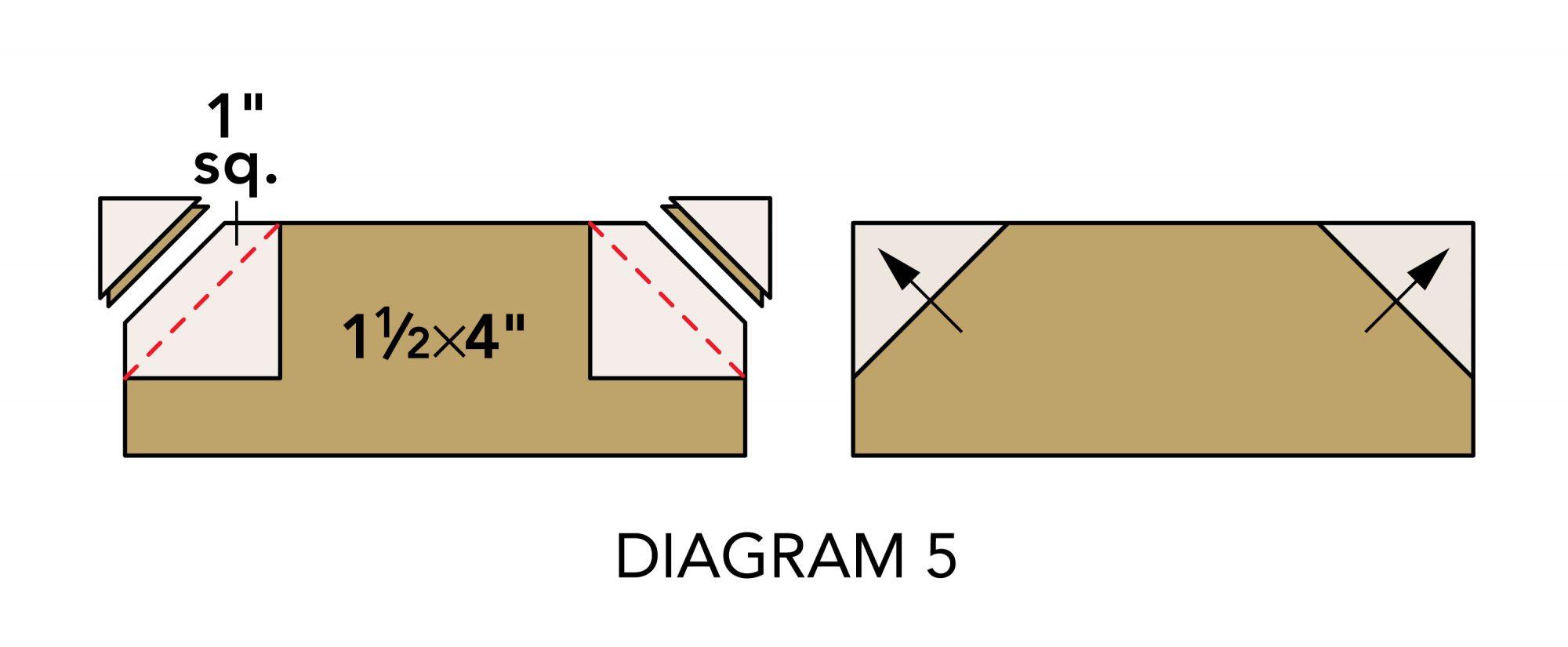 Fall Mug Rugs diagram 5