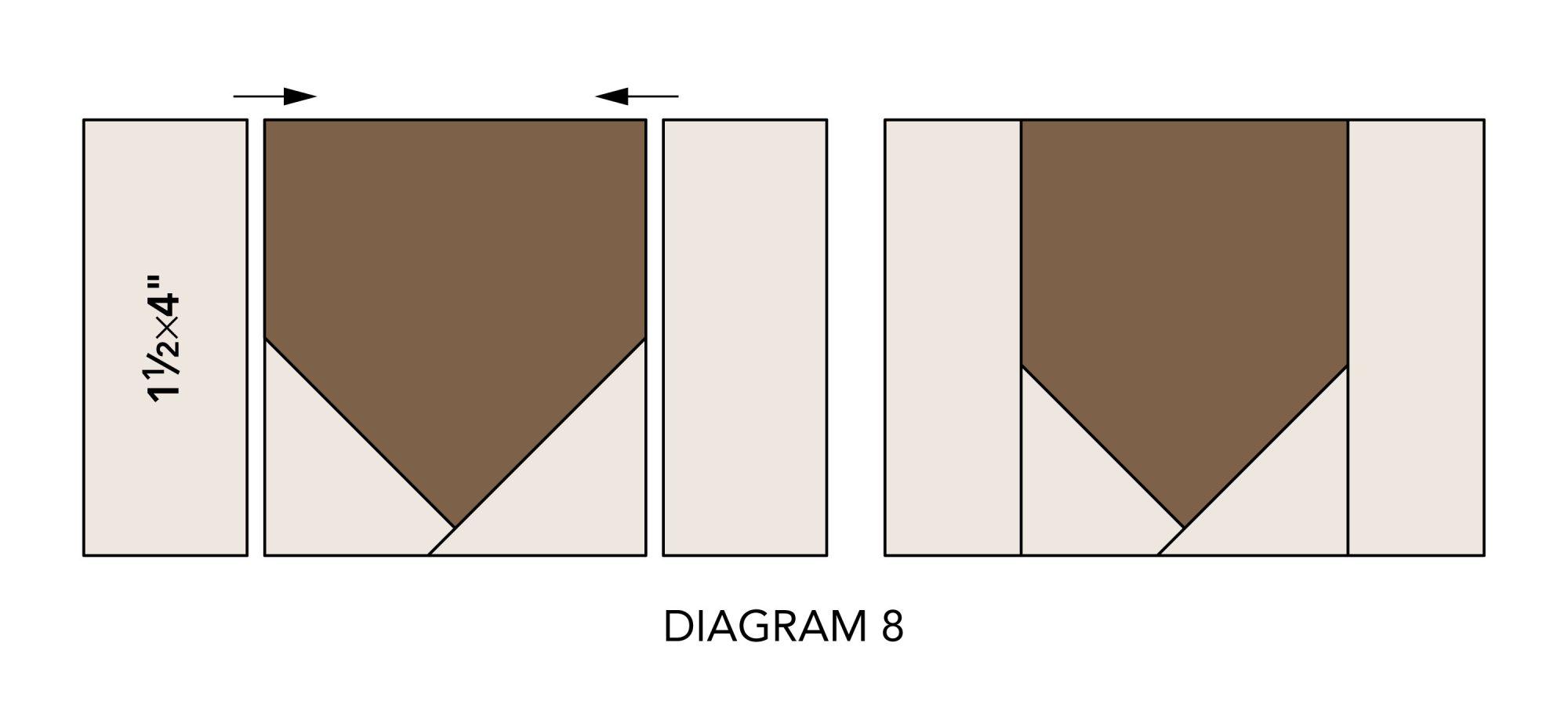 Fall Mug Rugs diagram 8