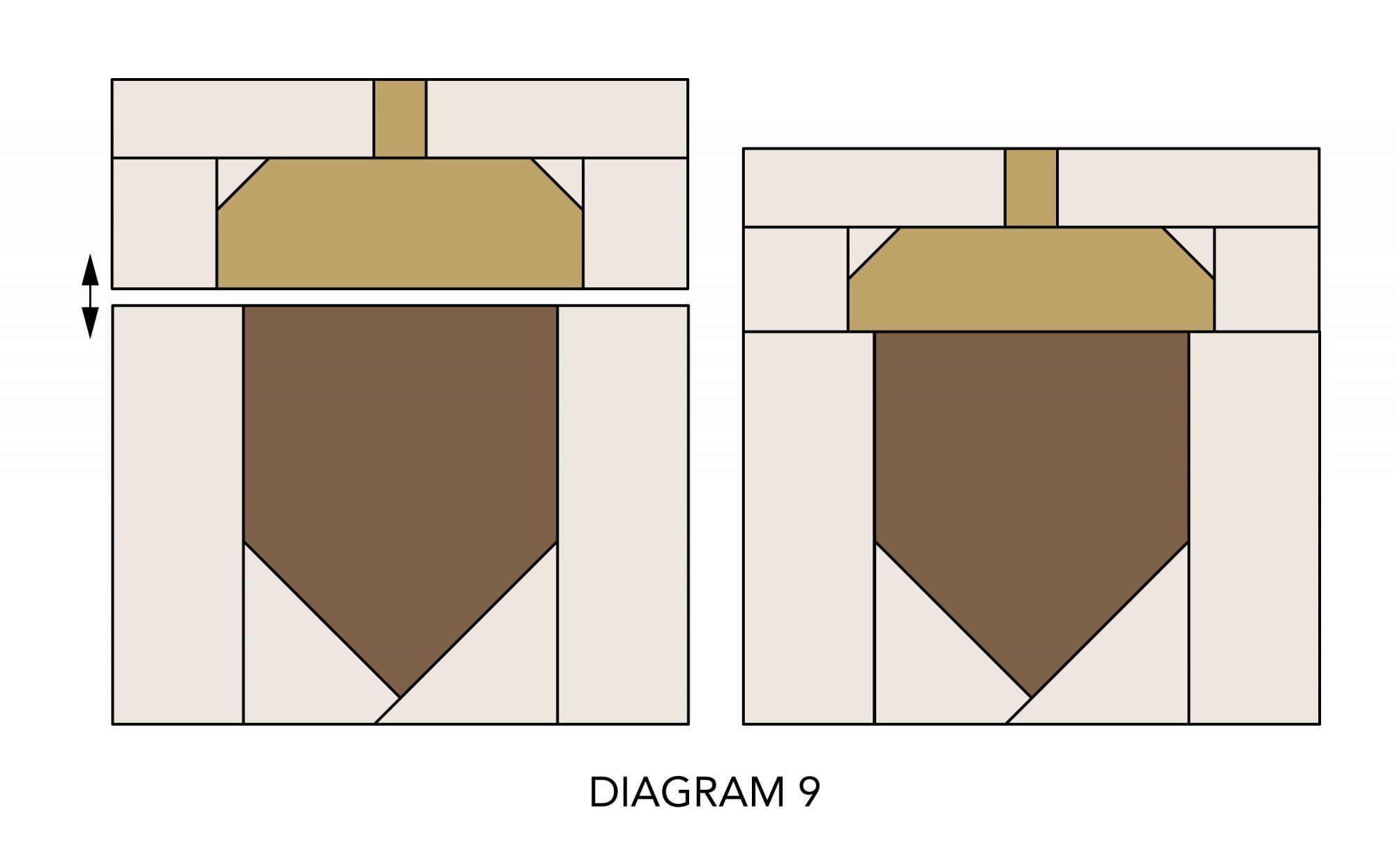 Fall Mug Rugs diagram 9