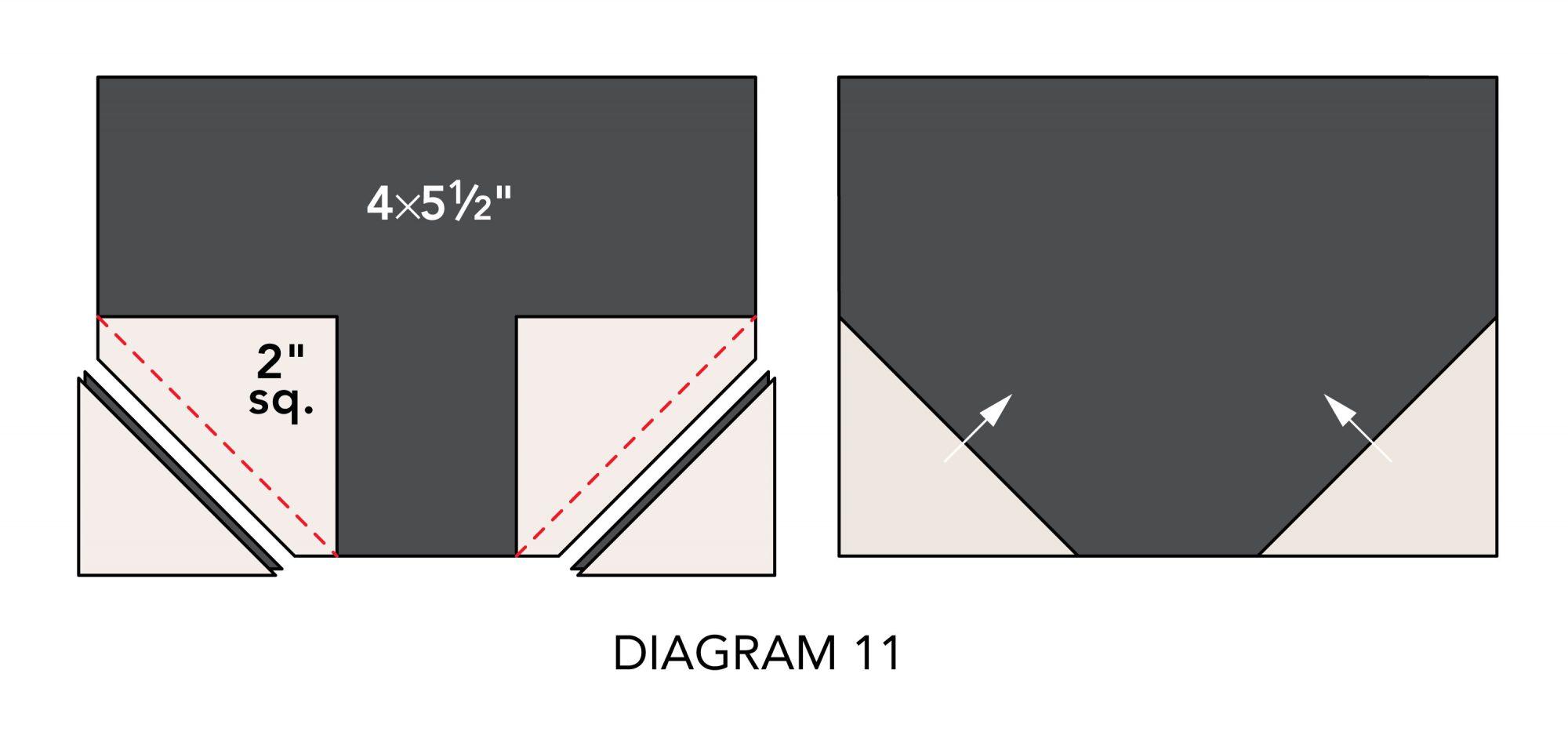 Fall Mug Rugs diagram 11