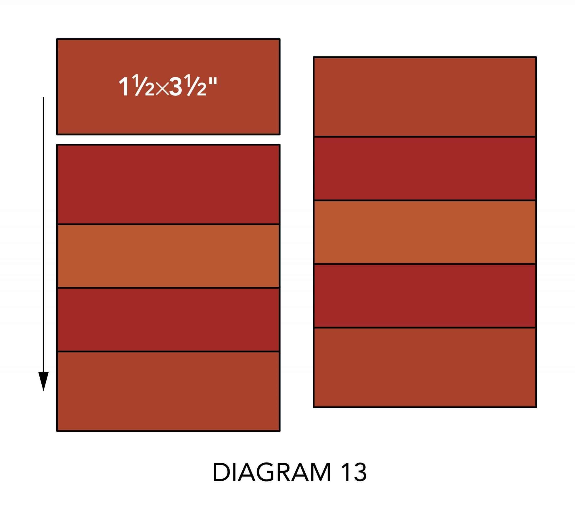Fall Mug Rugs diagram 13