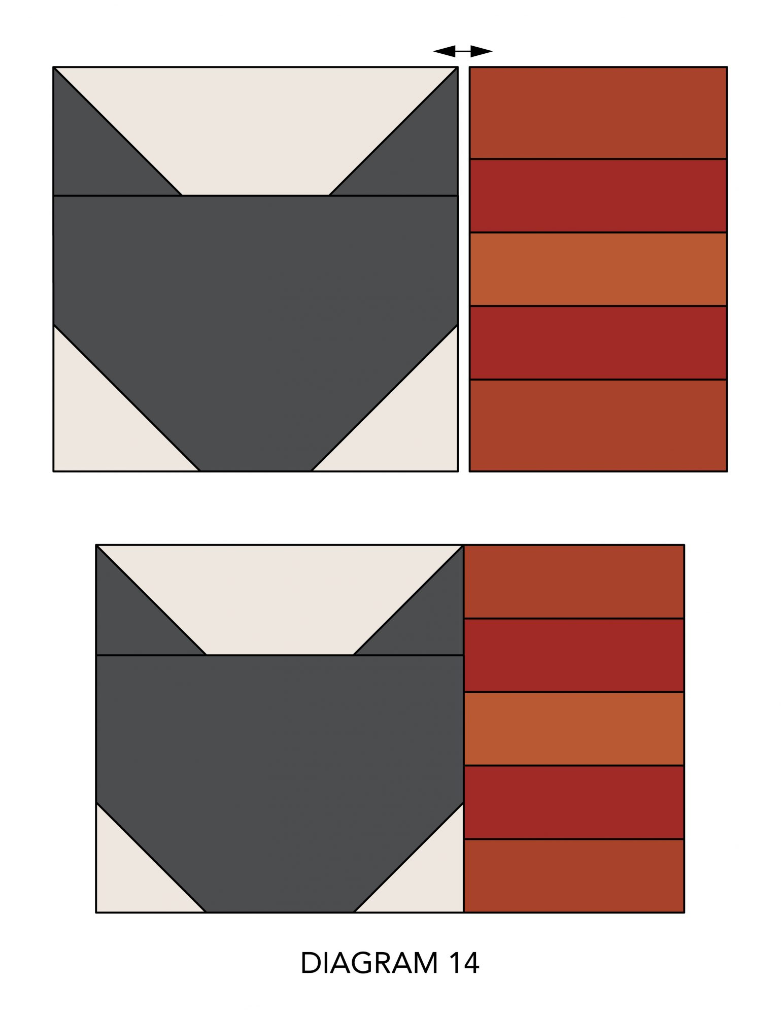 Fall Mug Rugs diagram 14