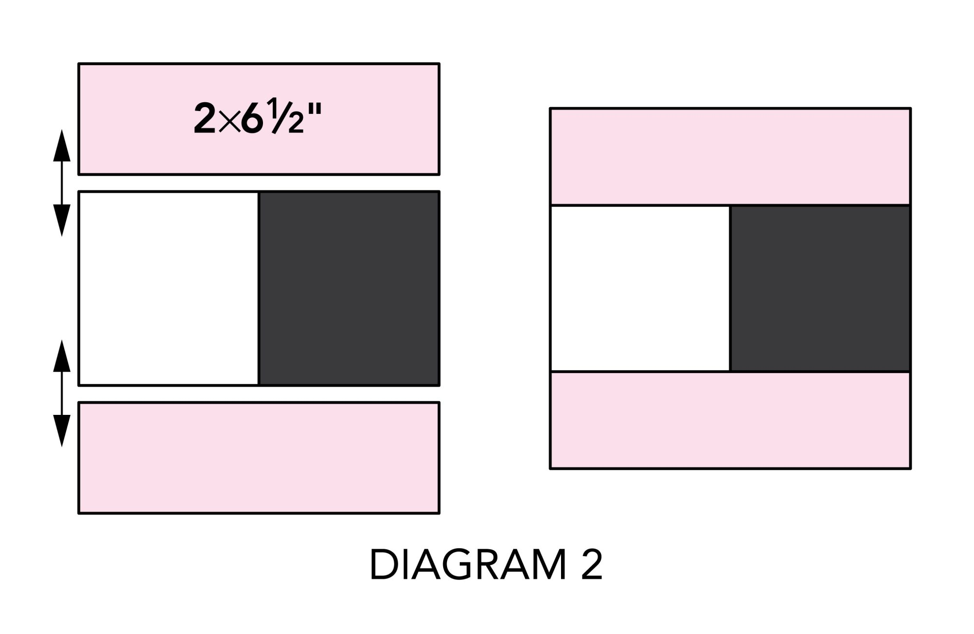 Dreamland Pillowcase diagram 2