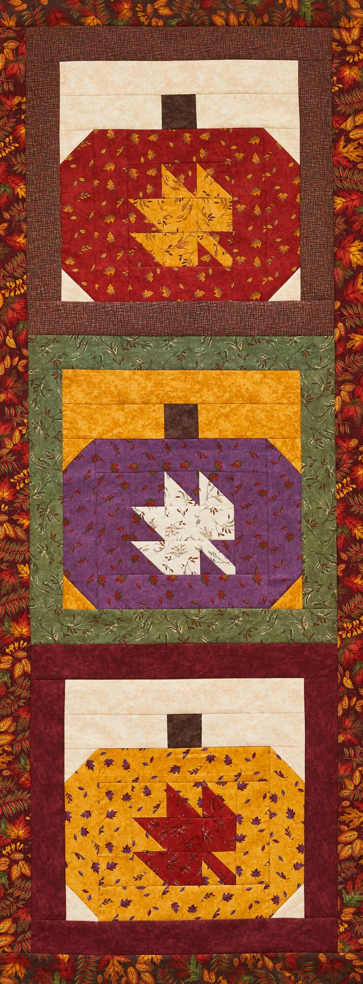 Pumpkin Patch Wall Quilt