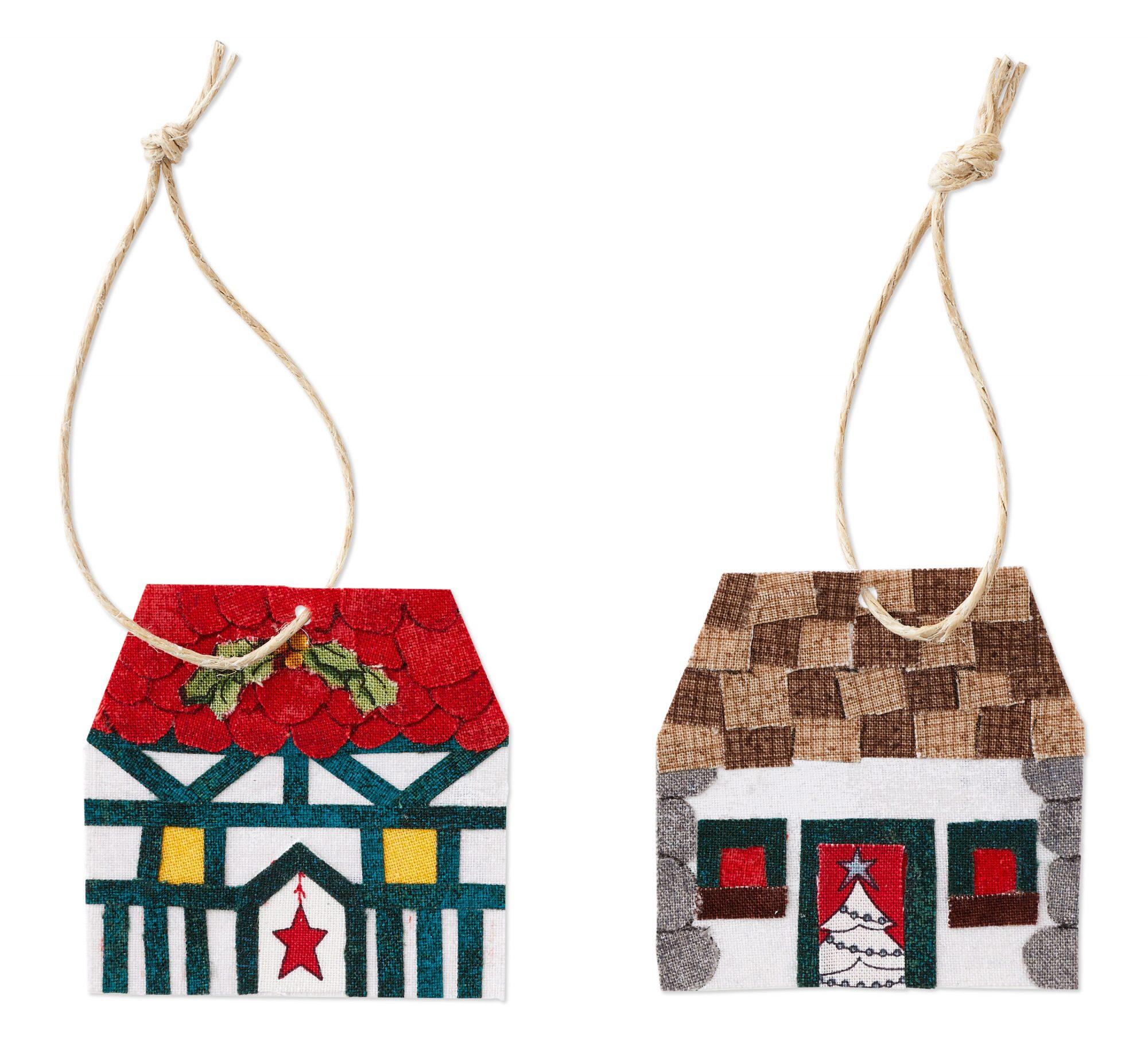Christmas Cottages Color Option