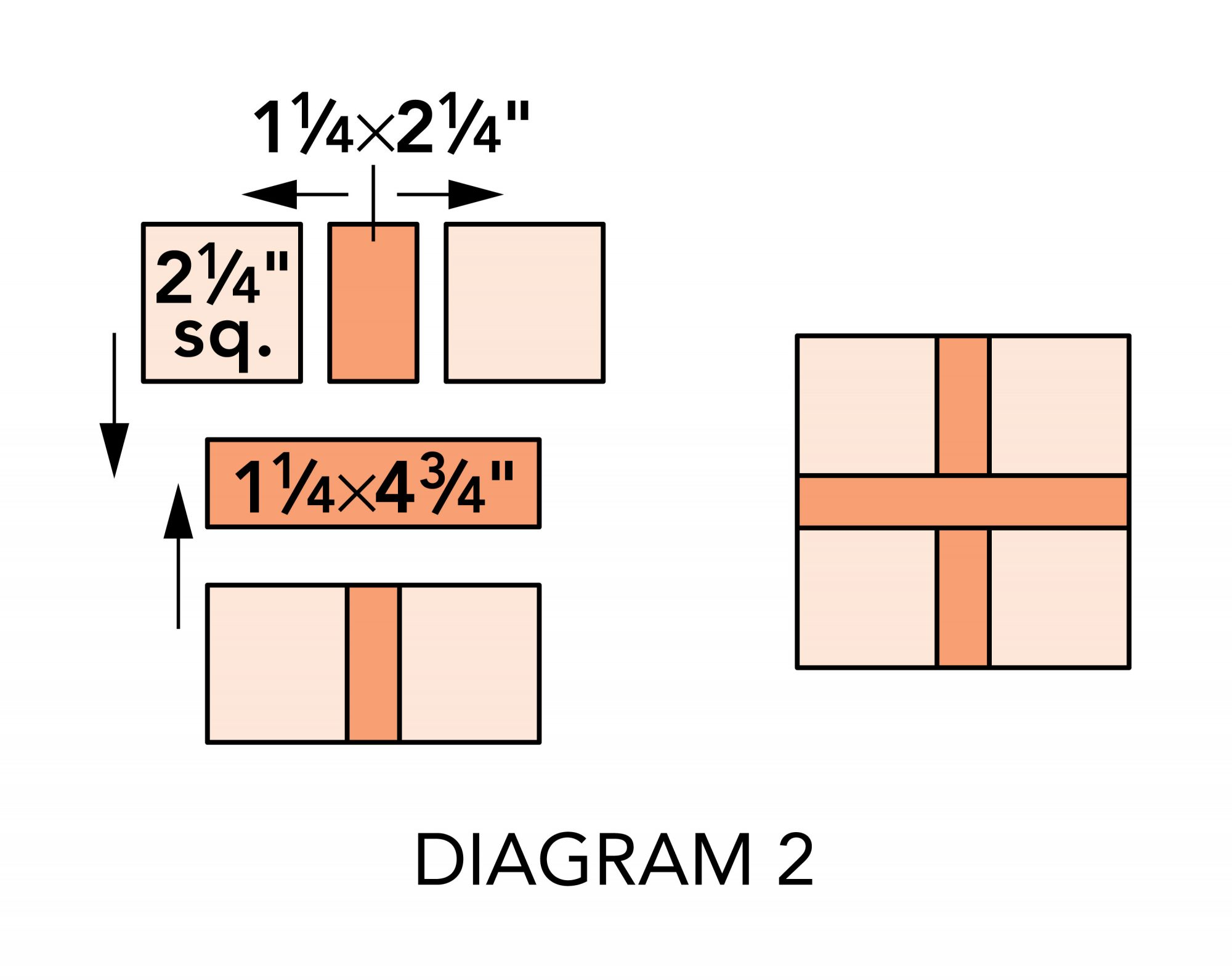 Plus Pincushions diagram 2
