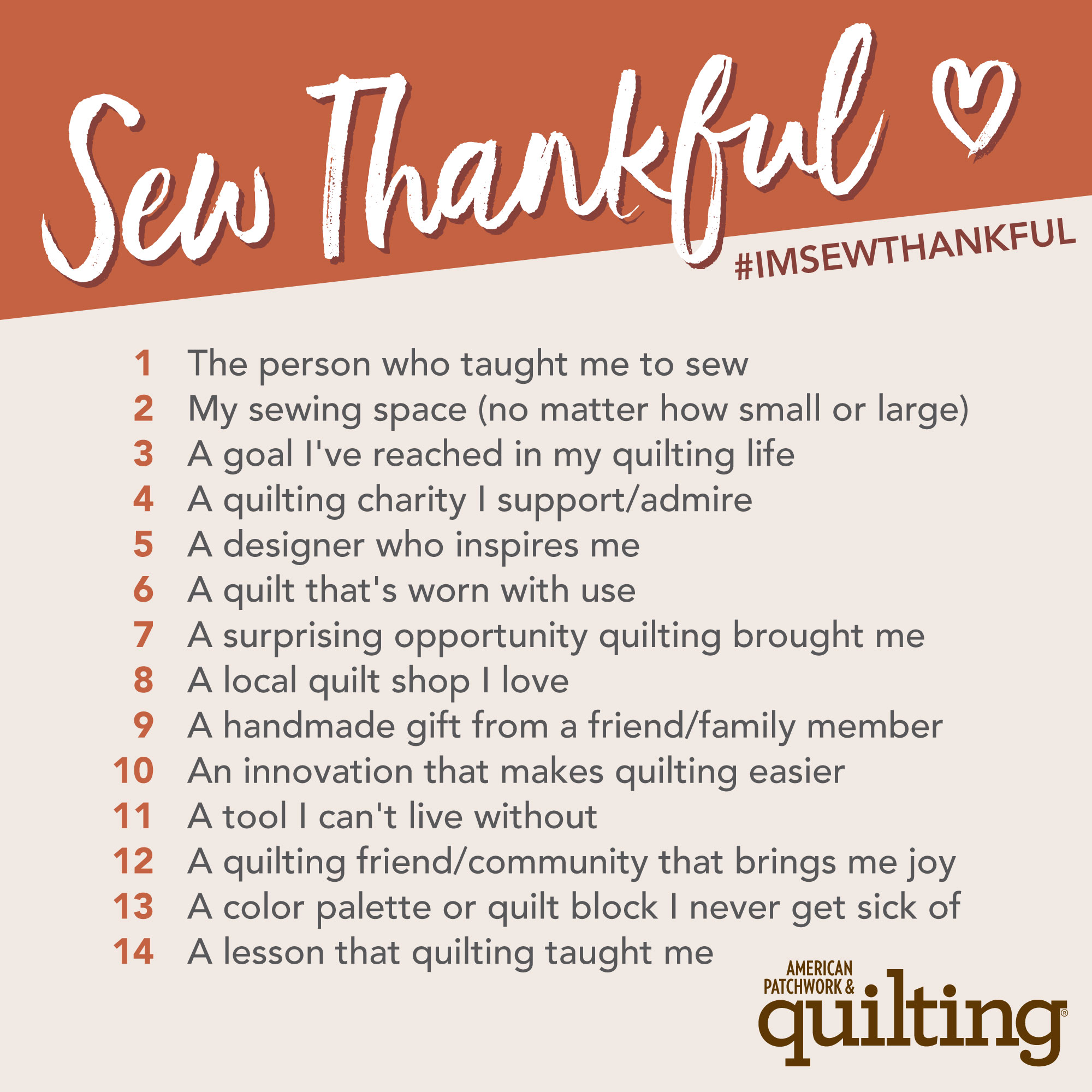 Sew Thankful