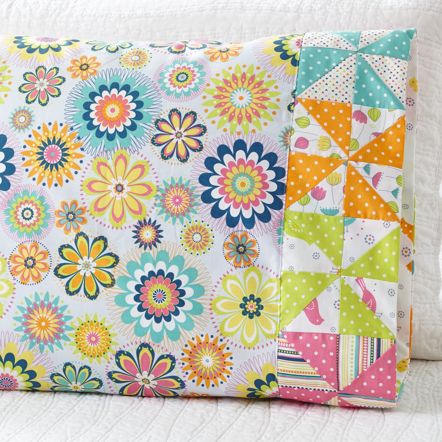 Pinwheel Band Pillowcase