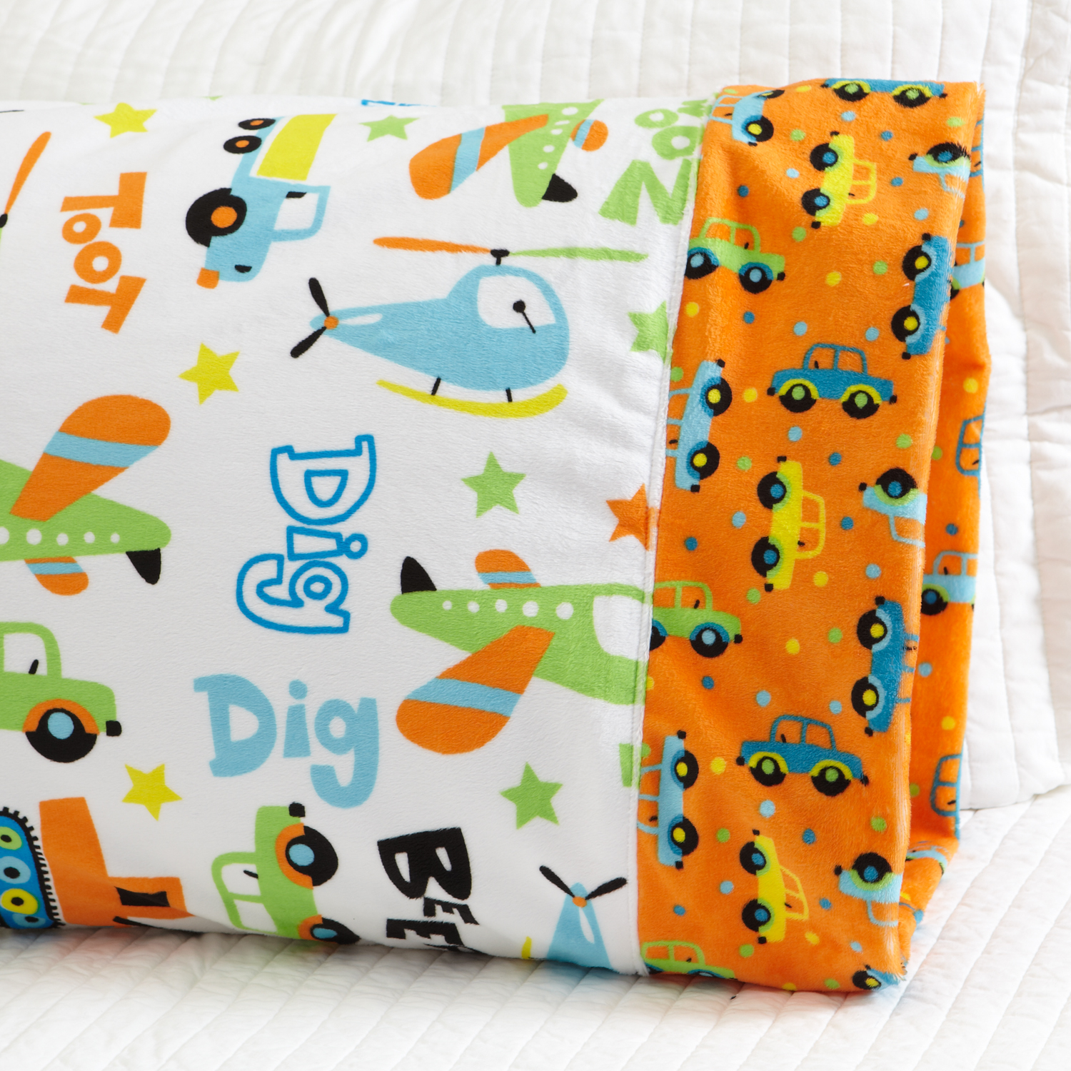 Plush Fabric Pillowcase