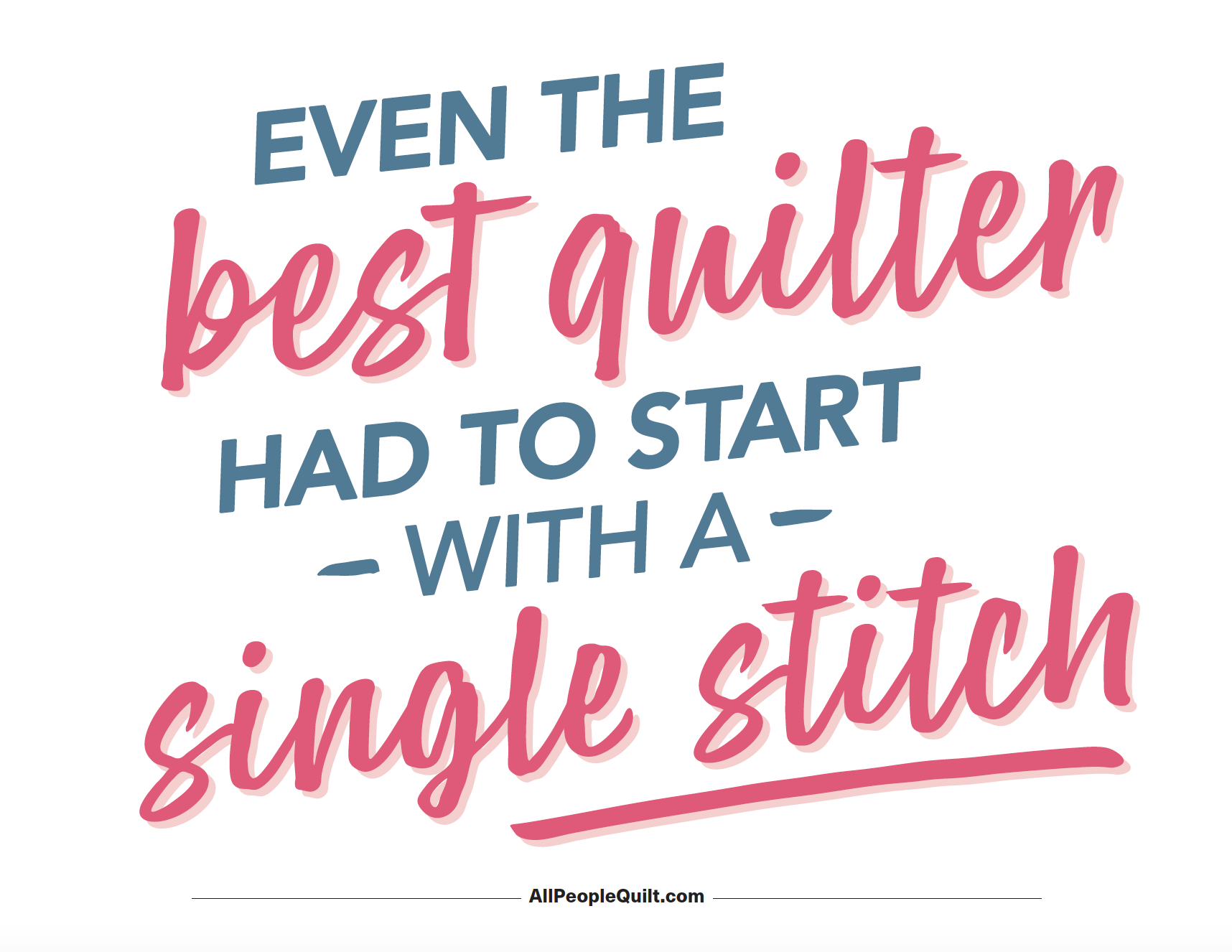 Inspirational Sewing Quote